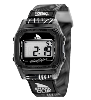 Freestyle Watches Shark Classic Clip Blk/Wht/Blk Unisex Watch 10019187