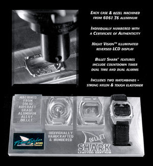 SHARK CLASSIC BILLET BLACK OUT