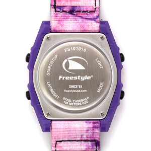 Freestyle Watches SHARK CLASSIC LEASH TIE-DYE PURPLE HAZE Unisex Watch FS101016