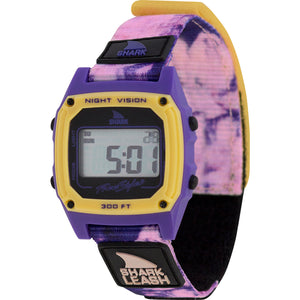 SHARK CLASSIC LEASH TIE-DYE PURPLE HAZE