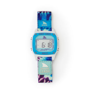 SHARK CLASSIC LEASH TIE-DYE BLUE DAZE