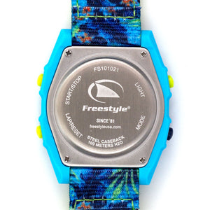 Freestyle Watches Shark Classic Leash Aloha Floral Green Unisex Watch FS101021