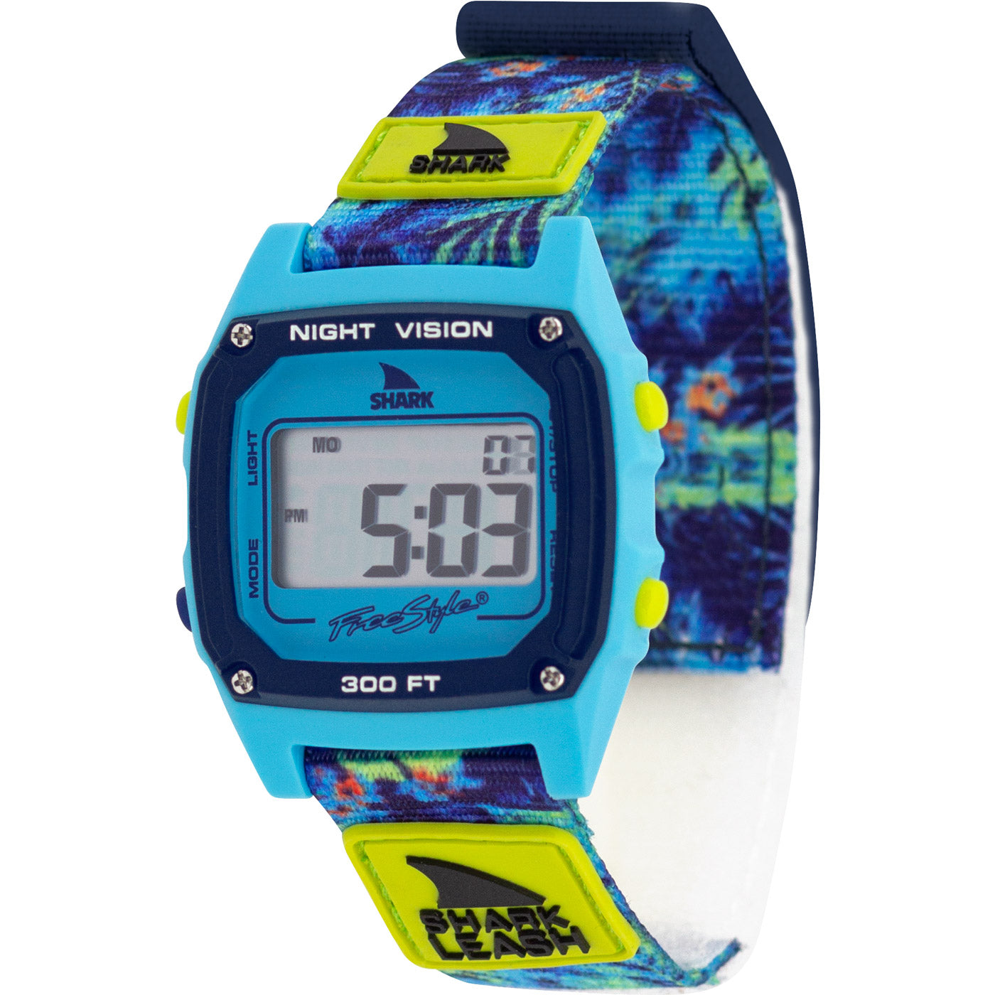 024602261 Freestyle Watches Shark Classic Leash Aloha Floral Green Unisex ...