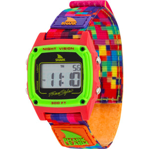SHARK CLASSIC LEASH ALOHA PIXELATED