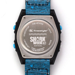 Freestyle Watches Shark Classic Leash Shark Week Blue Fin Unisex Watch FS101033