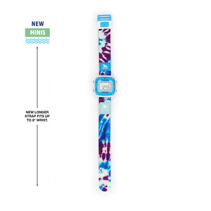 SHARK MINI CLIP TIE-DYE BLUE DAZE