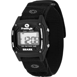 Freestyle Watches Shark Classic Fast Wrap Black Unisex Watch FS101052