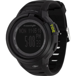 Freestyle Watches Mariner Tide BLK/BLK/YEL Unisex Watch 10017972B