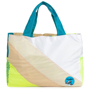 Mokuyobi X Freestyle Beach Bag Blue Wave