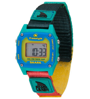 SHARK LEASH MINI GRN/YELLOW/BLUE