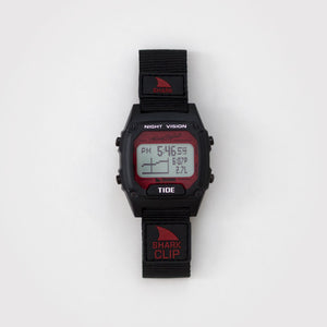 Freestyle Watches Shark Clip Tide Black/Red Unisex Watch 10027113