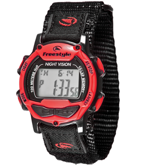 Freestyle Watches Predator Blk/Red/Blk Unisex Watch 10006684