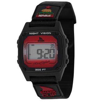 Freestyle Watches Shark Classic Clip Black/Red Unisex Watch 10027329