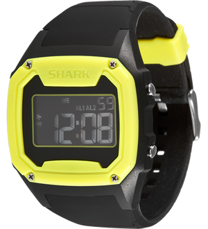 Shark XL - Strap Kit - Silicone - BLACK/YELLOW