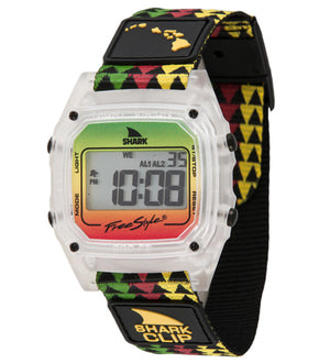 Freestyle Watches Shark Classic Clip Grn/Red/Yel Unisex Watch 10022119