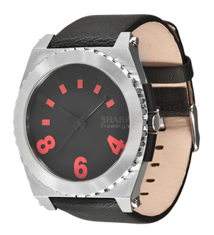 Freestyle Watches Kraken Silver/Leather Unisex Watch 101071