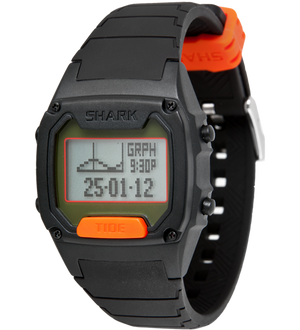 Shark Classic - Strap Kit - Silicone - BLACK/ORANGE