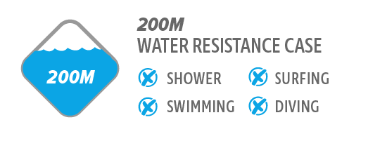 200M Water Resistance