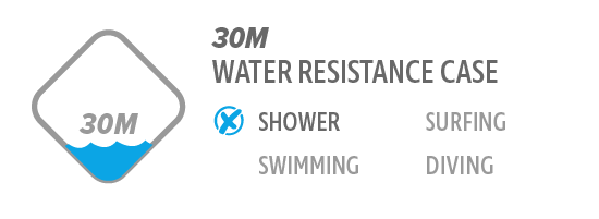 30M Water Resistance