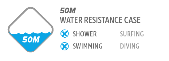 50M Water Resistance