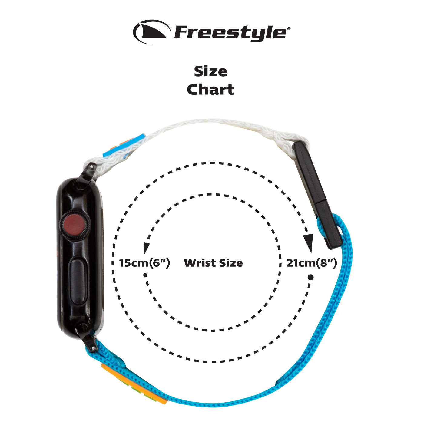 Freestyle Apple Watch Strap Size Guide