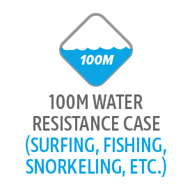 100M Water Resistance