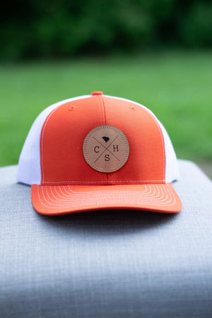 CHS Trucker Hat (Orange/White) - Graefic Design