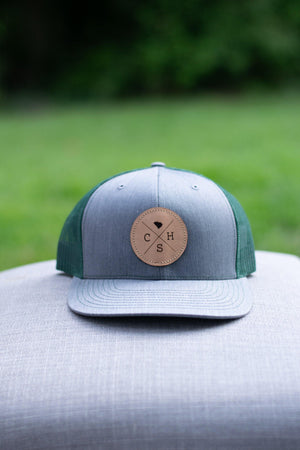 CHS Trucker Hat (Gray/Green) - Graefic Design