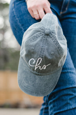 Riley Cap - Distressed - Graefic Design