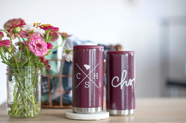 Skinny Can Cooler - Graefic Design