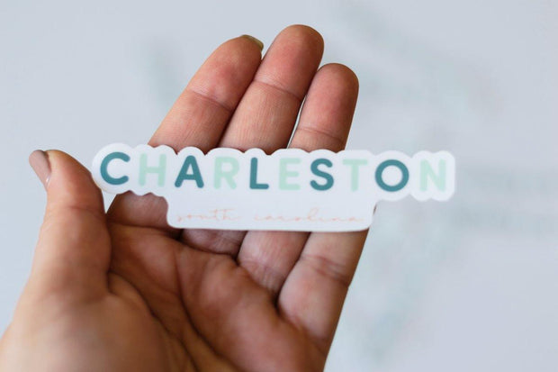 Charleston Sticker - Graefic Design