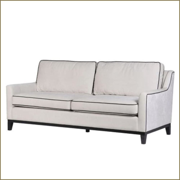 Esmee Three-Seat Velvet Sofa - Sofa
