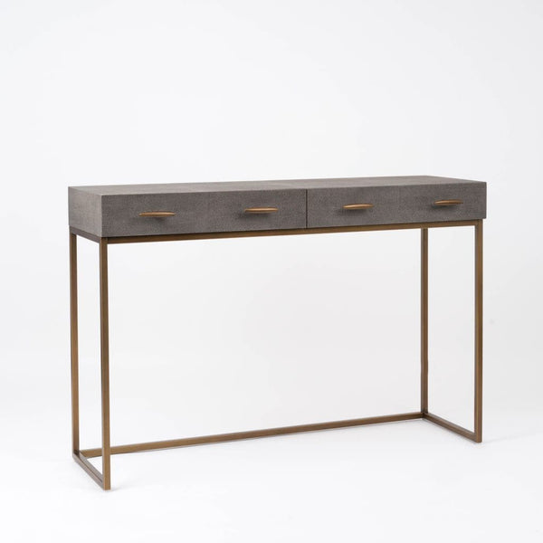 Kupe Shagreen Console Table