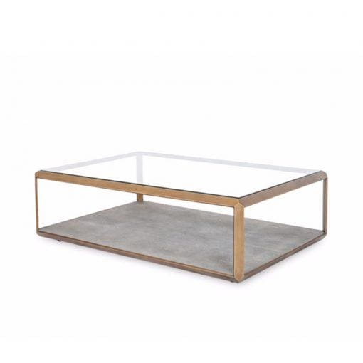 Rafael Shagreen Coffee Table - Coffee Table