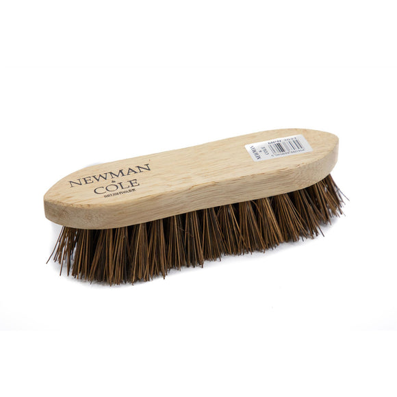Newman and Cole Wooden Natural Bassine Scrubbing Brush