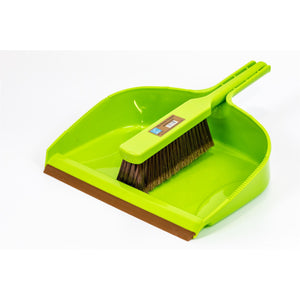 Large Garden Dustpan and Brush Outdoor Shovel Cleaning Set