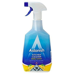 Astonish Kitchen Cleaner Zesty Lemon 750ml - The Dustpan and Brush Store