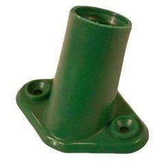 "Replacement Plastic Broom Bracket 15/16"" Support Socket For Sweeping Brushes 2 Screw Hole - The Dustpan and Brush Store"