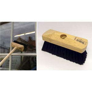 "Soft Fill Window Brush, 6 1/2"" (15cm) Complete with Shaft - The Dustpan and Brush Store"