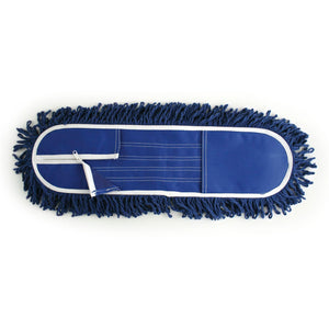 "Dustbeater 24"" Industrial Flat Floor Mop - Refill Head"