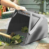 Large Garden Dustpan Scoop Litter Collection Waste Bucket - The Dustpan and Brush Store