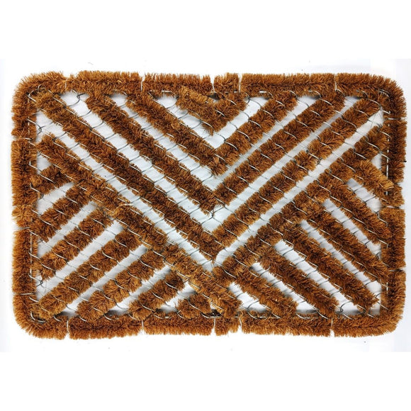 Wire Scraper Door Mat Boot Brush
