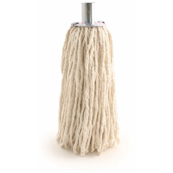 Heavy Duty Industrial Commercial 16 PY Cotton Mop Head Galvanised Metal Socket