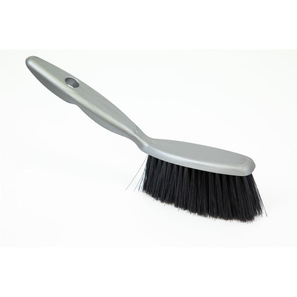 Plastic Hand Brush with Soft Synthetic Bristles