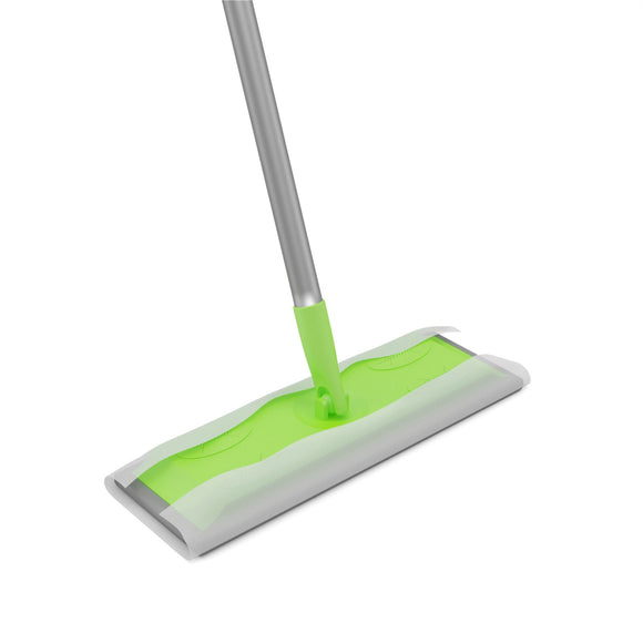 Static Floor Duster Cleaning Mop Can Be Used with Wet or Dry Wipes - The Dustpan and Brush Store