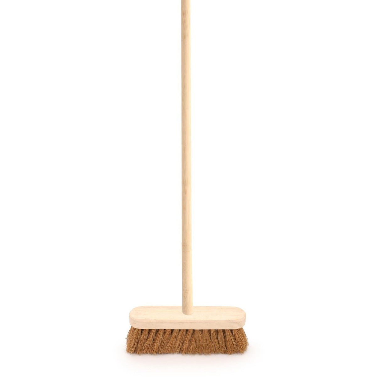10 Quot Soft Coco Broom Sweeping Brush And Wooden Handle The