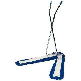 Large V Sweeper Scissor Action Mop, Dust Control for Large Area's - The Dustpan and Brush Store