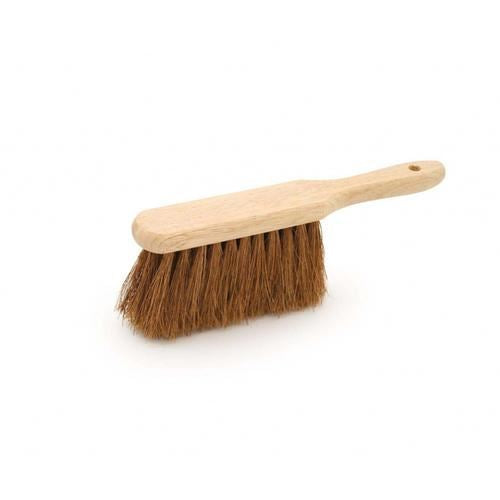 Natural Coco Soft Hand Brush, Soft Banister Brush Wooden Stock - The Dustpan and Brush Store