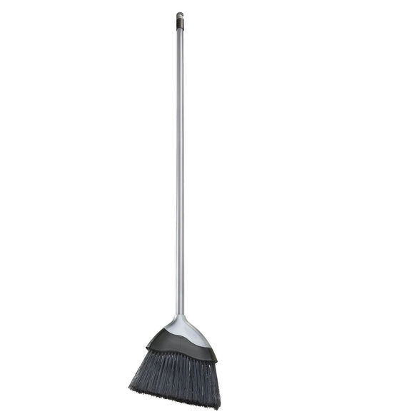 Silver Indoor Angled Kitchen Laminate Floor Sweeping Brush Broom - The Dustpan and Brush Store