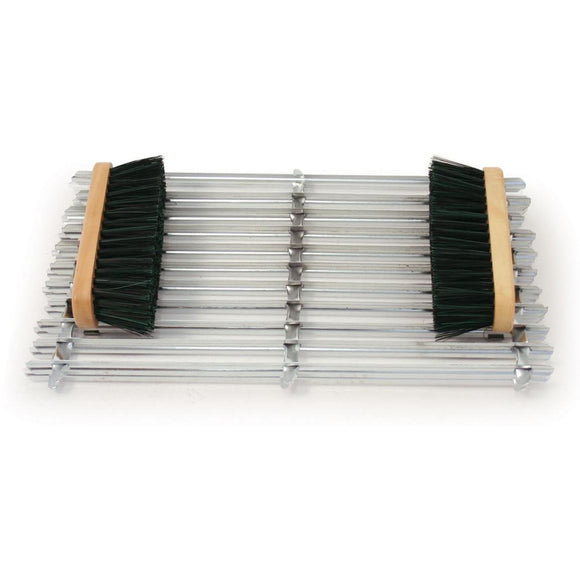 Gavanised Metal Door Mat Scraper Boot Brushes